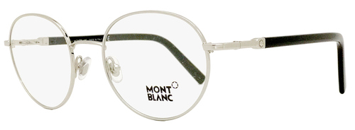 Montblanc Oval Eyeglasses MB557 016 Size: 50mm Palladium/Black 557