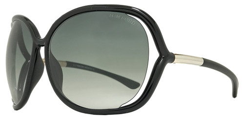 Tom Ford Butterfly Sunglasses TF76 Raquel 199 Black/Gold FT0076