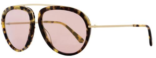 Tom Ford Aviator Sunglasses TF452 Stacy 53Z Tortoise/Rose Gold FT0452