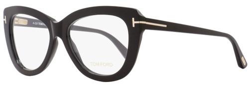 Tom Ford Butterfly Eyeglasses TF5414 001 Size: 53mm Black FT5414
