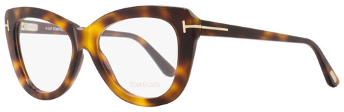 Tom Ford Butterfly Eyeglasses TF5414 052 Size: 53mm Havana FT5414