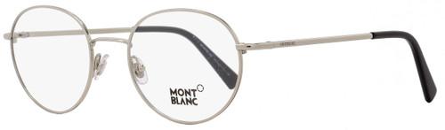 Montblanc Round Eyeglasses MB559 016 Size: 50mm Palladium/Black 559
