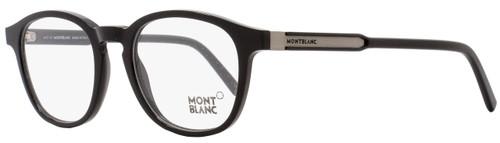 Montblanc Oval Eyeglasses MB632 001 Size: 50mm Black 632