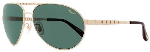 Chopard Aviator Sunglasses SCHB01 L45P Satin Rose Gold Polarized B01