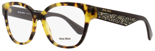 Miu Miu Oval Eyeglasses VMU06O 7S0-1O1 Size: 54mm Havana/Brown 06OV