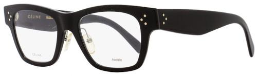 Celine Rectangular Eyeglasses CL41428 06Z Size: 49mm Black 41428