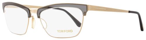 Tom Ford Cateye Eyeglasses TF5392 020 Size: 54mm Gray/Gold/Black FT5392