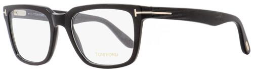 Tom Ford Rectangular Eyeglasses TF5304 001 Size: 54mm Black/Gold FT5304