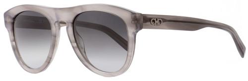Salvatore Ferragamo Oval Sunglasses SF828S 003 Gray 828