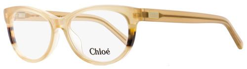 Chloe Cateye Eyeglasses CE2616 771 Size: 51mm Transparent Honey 2616