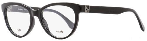 Fendi Oval Eyeglasses FF0008 D28 Black 52mm 008