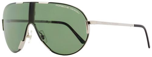 Porsche Design Folding Sunglasses P8486 B Palladium Black 65mm 8486