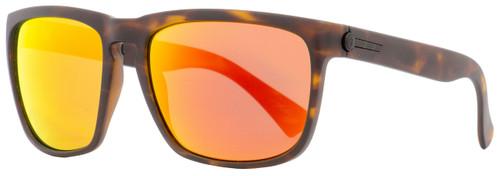 Electric Rectangular Sunglasses Knoxville XL EE11213958 Matte Tortoise 60mm