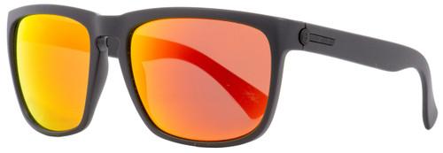 Electric Rectangular Sunglasses Knoxville XL EE11201058 Matte Black 60mm