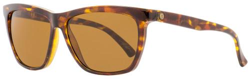 Electric Rectangular Sunglasses Watts EE11910643 Gloss Tortoise Polarized 58mm