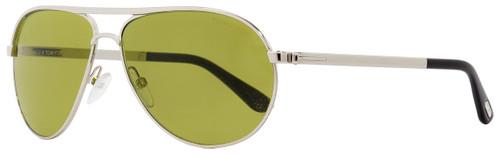 Tom Ford Aviator Sunglasses TF144 Marko 18N Rhodium/Black 58mm FT0144