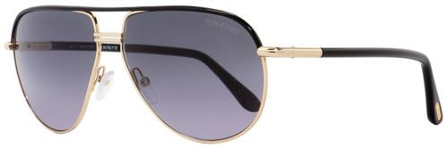 Tom Ford Aviator Sunglasses TF285 Cole 01B Black/Gold 61mm FT0285