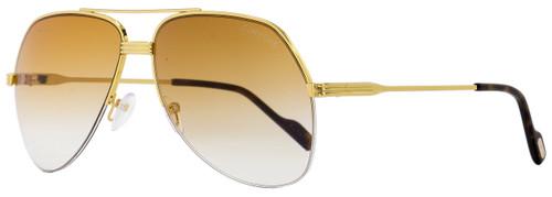 Tom Ford Aviator Sunglasses TF644 Wilder-02 32F Gold/Havana 62mm FT0644