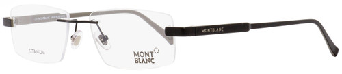 Montblanc Rimless Eyeglasses MB661 002 Matte Black 53mm 661
