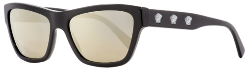 Versace Rectangular Sunglasses VE4344 GB1-1V Black 56mm 4344