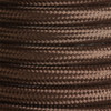 Dark Brown Round Fabric Cable 3Core [2166355]