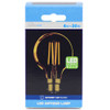 4w LED Crystalite Antique G80 Globe BC Golden Filament [3170663]