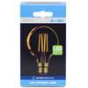4w LED Crystalite Antique G80 Globe BC Golden Filament [3170663]