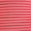 Red Herringbone Round Fabric Cable 3 Core [3260599]
