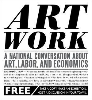 Art Work: A National Conversation About Art, Labor, and Economics