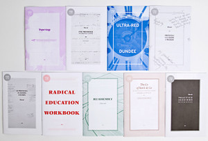 Ultra-red: Nine workbooks 2010-2014