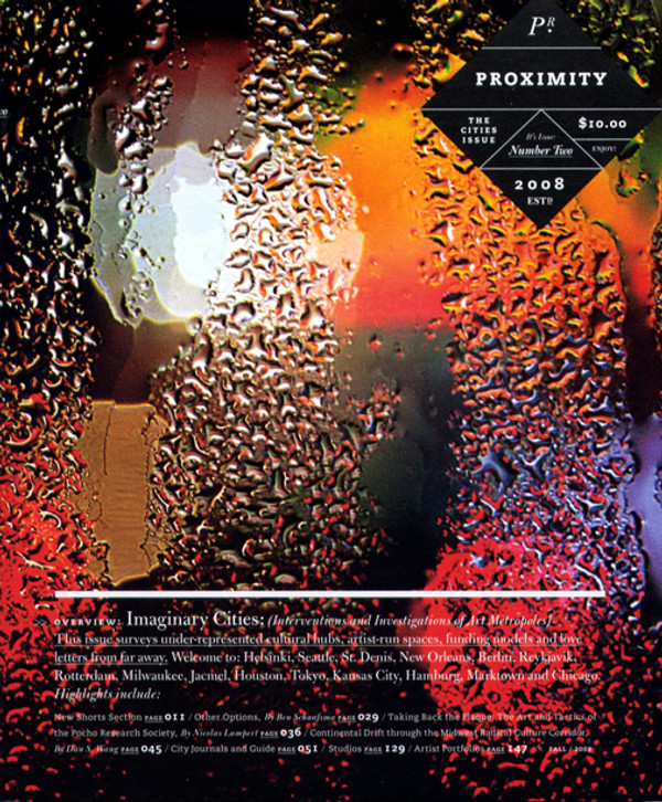 Proximity Number Two: The Cities Issue