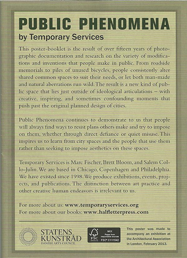 Public Phenomena [Poster-Booklet]
