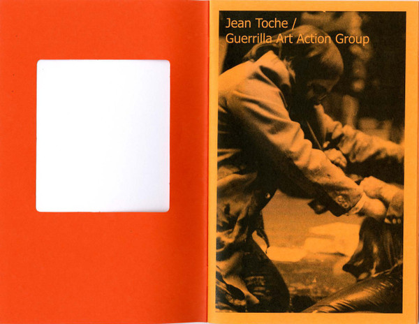 Temporary Conversations: Jean Toche / Guerrilla Art Action Group [PDF-5]