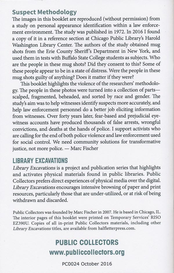 Library Excavations #4: Suspect Methodology