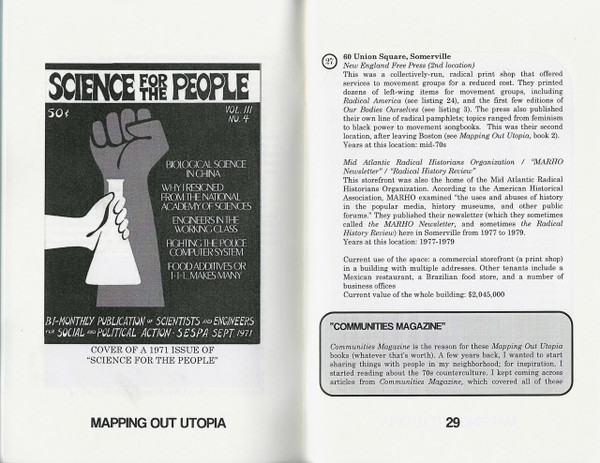 Selected page of Mapping Out Utopia, Book 3
