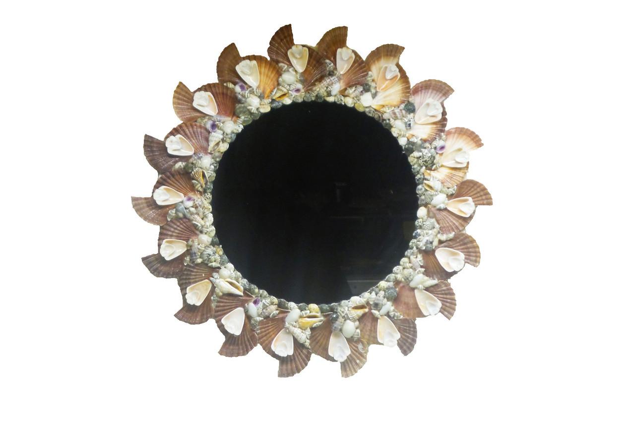 Round Mirror w/Flats