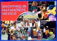 Shopping in Matamoros Postcard