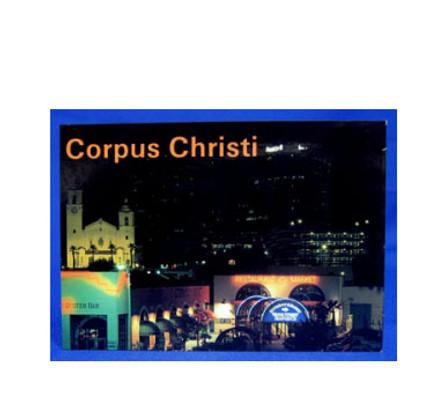 Corpus Christi Shops Postcard