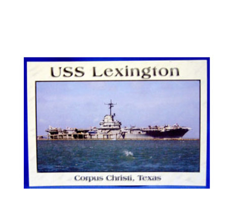 USS - Lexington Postcard
