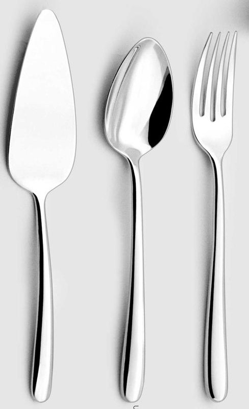Fusain Flatware | Beautiful flatware & serving utensils to adorn your tablescapes and add to your Sasha Nicholas wedding & gift registry