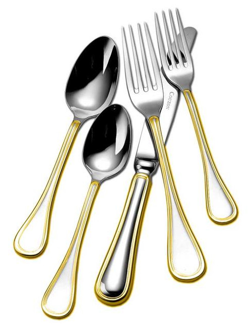 Lyrique Flatware | Beautiful flatware & serving utensils to adorn your tablescapes and add to your Sasha Nicholas wedding & gift registry