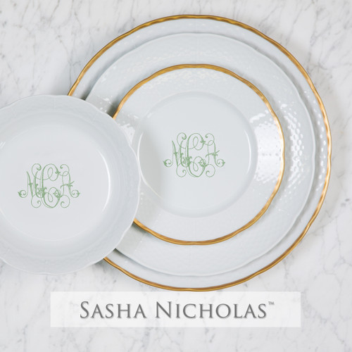 Graham-Carlsen WEDDING SCOTT PLACE SETTING