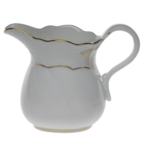 Shepard-Streur Herend Golden Edge Creamer (10oz)