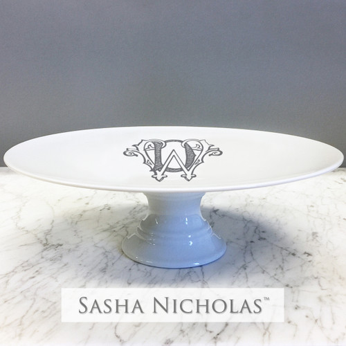 DunWright Cake Plate