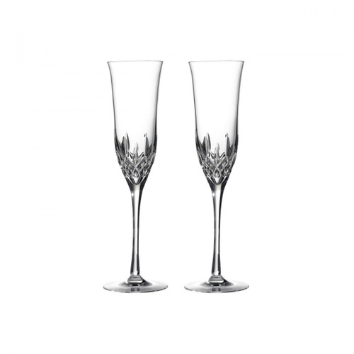 Convy-Allen Waterford Lismore Essence Flute, Champagne Flute, Pair