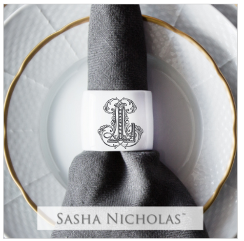 Schnoebelen-Looney Oval Napkin Ring