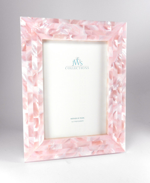Pink Mother of Pearl Frame | 5x7