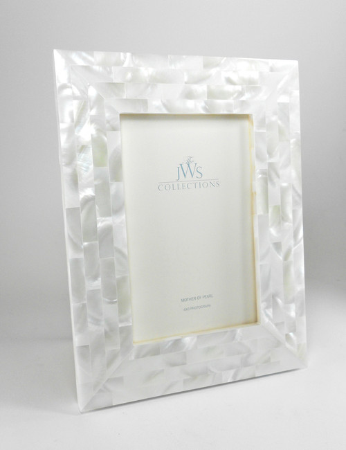 White Mother of Pearl Frame | 4x6