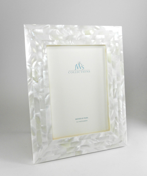 White Mother of Pearl Frame | 5x7