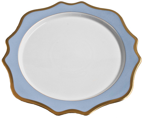 Millman-Pope Anna Weatherley Anna's Palette Charger, Sky Blue